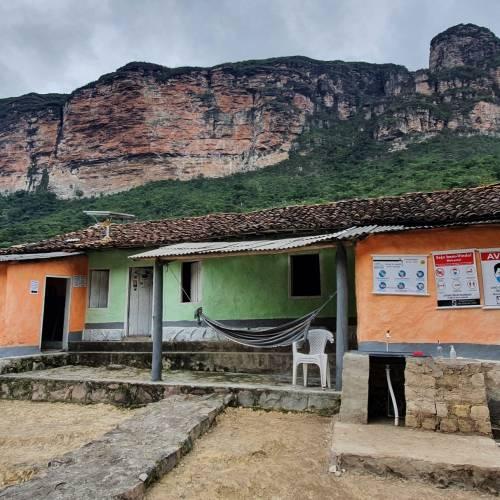 Casas autorizadas a hospedar no Vale do Pati