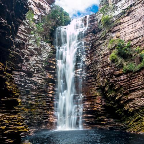 Cachoeira do Buracão é a primeira da Chapada Diamantina (BA) a adotar a venda online de ingressos
